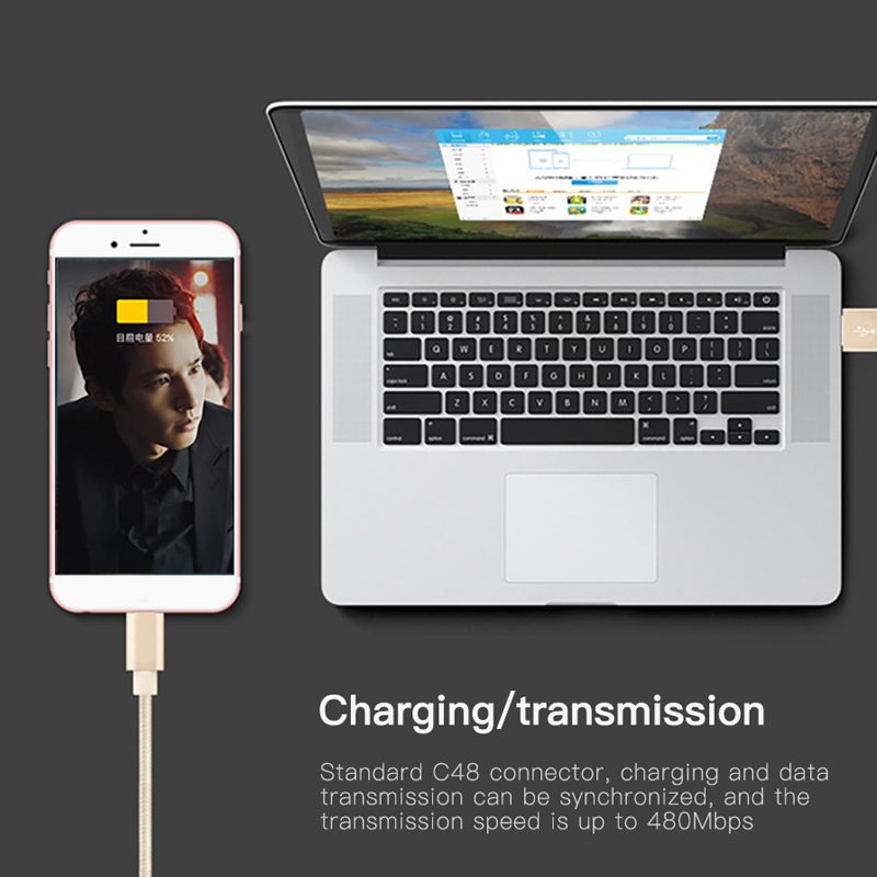 NOHON For Apple USB Charging Data Cable For iPhone X 7 6 8 6S 5S Plus