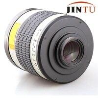 JINTU 500mm f/6,3 F6.3 белый телефото зеркало объектив для Sony Alpha Камера + бесплатный кожаный мешок + бесплатная доставка + 2 года Warratny