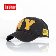 fashion cotton baseball cap snapback hat for men women Mens Visors sun NY embroidery caps spring autumn wholesale gorra