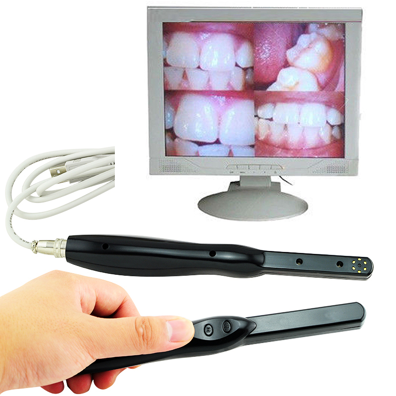 New Dental HD USB 2.0 Intra Oral Camera 6 Mega Pixels 6-LED Clear Image  Dental HD USB 2.0 Intra Oral Camera 2016 intra oral dental photography mirror buccal adult dbl sided glass chromium new toiletry kits