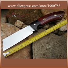 Straight knife camping knife hunting knife fixed blade knife stainless steel combat tool DT127