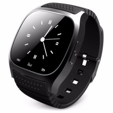 New 2017  Waterproof Smartwatch M26 Bluetooth Smart Watch With LED Alitmeter Music Player Pedometer For Android Smart Phone