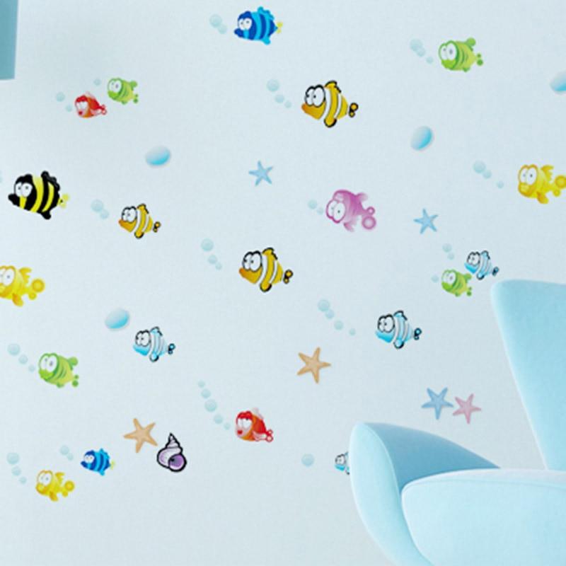 New Flounder Fish Finding Nemo Wall Sticker Cartoon Wall Sticker Decor  Removable Vinyl Nursery Kids Room Decals DIY Removable In Wall Stickers  From Home ... Part 78