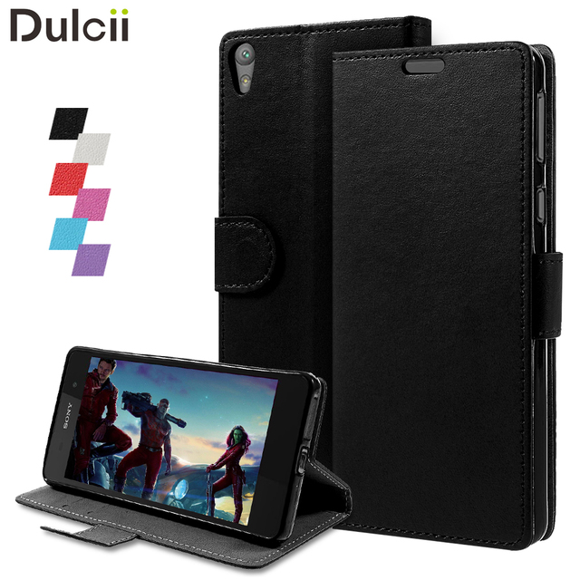 sports shoes 407a5 713da US $4.59 |Dulcii for Sony Xperia E5 Case for Sony E5 Phone Cover Bag Wallet  PU Leather Mobile Cell Protect Fundas for Xperia E5 Cases-in Flip Cases ...