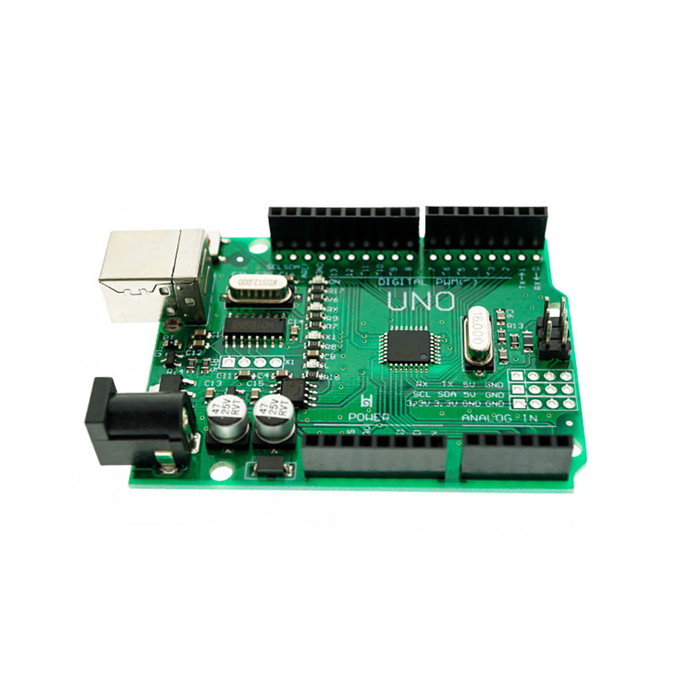 Improved Version Green Development Board With USB Cable ATmega328P CH340G UNO R3