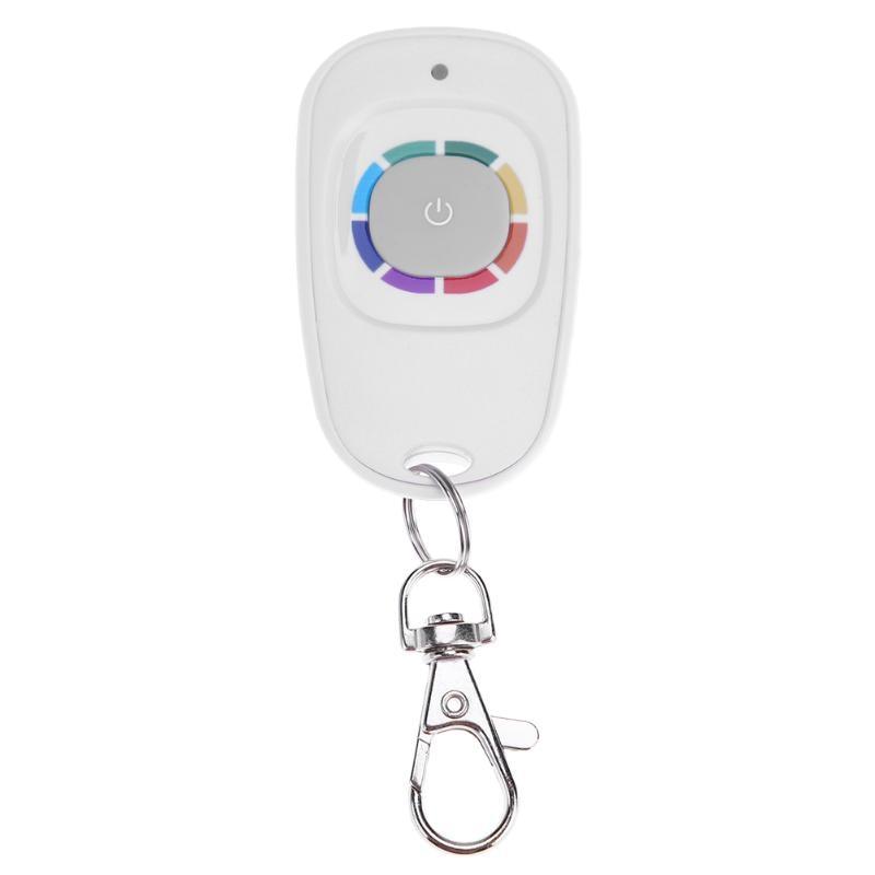 433MHz Waterproof 1 Key Wireless Remote Control Fixed Code Rolling Code Smart Remote Control for Garage Door Gate Light Alarm universal wireless rf remote control learning copy clone code remote control duplicator key 433mhz for garage gate door