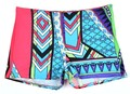 New Fashion Women Shorts Summer Style Geometric Aztec Prints Casual Tight High Waist Casual Hot 63