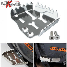 Stainless Steel Rear Foot Brake Lever Peda Enlarge Extension Peg Pad Extender for KTM 1050 1190 1290 990 Adventure R