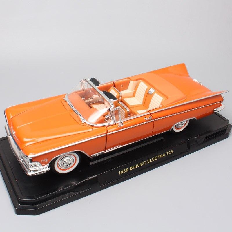 Oyuncaklar ve Hobi Ürünleri'ten Pres Döküm ve Oyuncak Araçlar'de Klasik lüks 1/18 GM 1959 BUICK ELECTRA 225 vintage cabrio metal döküm model arabalar araç oyuncak koleksiyonu küçük resimler boy'da  Grup 1