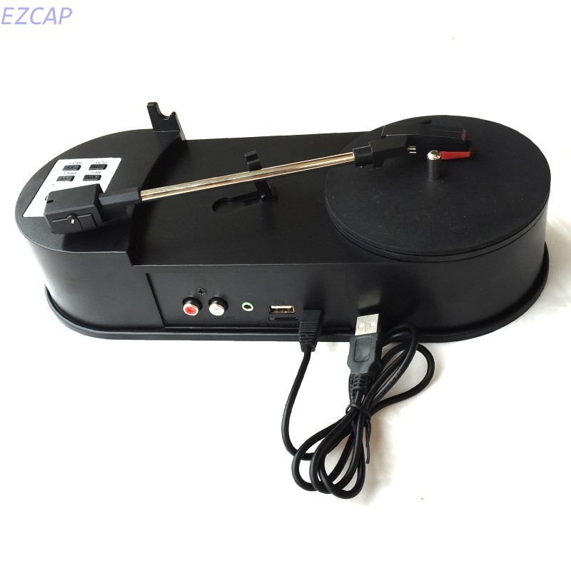 Turntable player audio capture converter, convert vinyl turntable to mp3 directly into USB Driver or TF Card, Free shipping