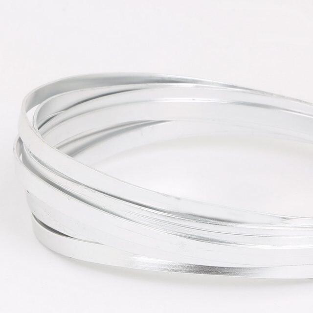 Online Shop Silver Color Aluminum Wire 1mm 1.5mm 2mm 2.5mm 5mm Soft ...