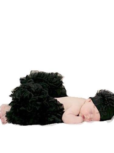 Пышная юбка для малышей Мягкая шифоновая Пышная юбка-пачка для малышей Юбка-пачка для маленьких девочек детская одежда юбка-пачка для новорожденных - Цвет: Черный