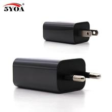 USB EU US Wall phone Charger Plug 5V1A AC 110V-240V Micro USB Power Adapter Multifunction