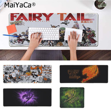 MaiYaCa Your Own Mats FAIRY TAIL  Unique Desktop Pad Game Mousepad Free Shipping Large Mouse Keyboards Mat