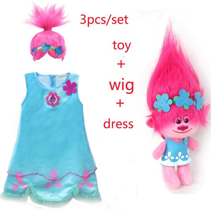 Brand New Trolls Poppy Child Wig