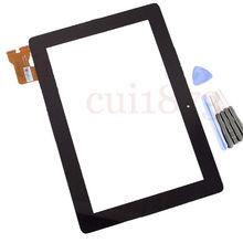 Envío gratis código de seguimiento digitalizador cristal de la pantalla para Asus MeMo Pad inteligente 10 ME301 memopad ME301T 5280N FPC-1