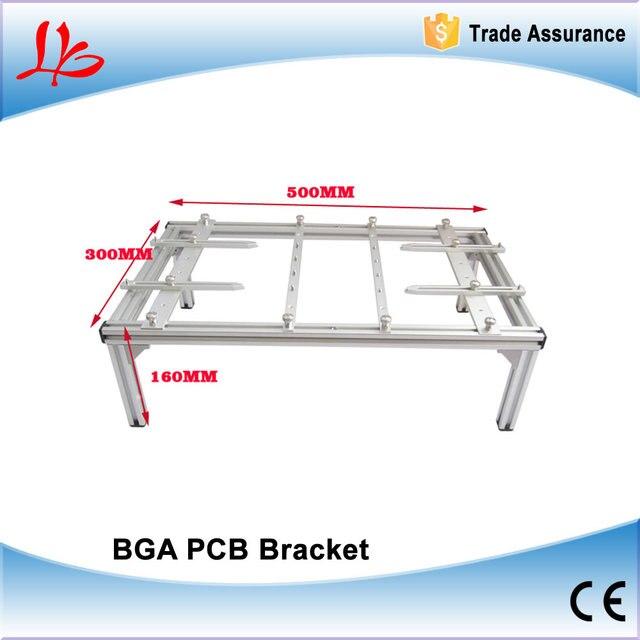 BGA кронштейн, держатель печатной платы 500 мм x 300 мм x 160 мм держатель печатной платы для паяльной машины, чтобы исправить доска