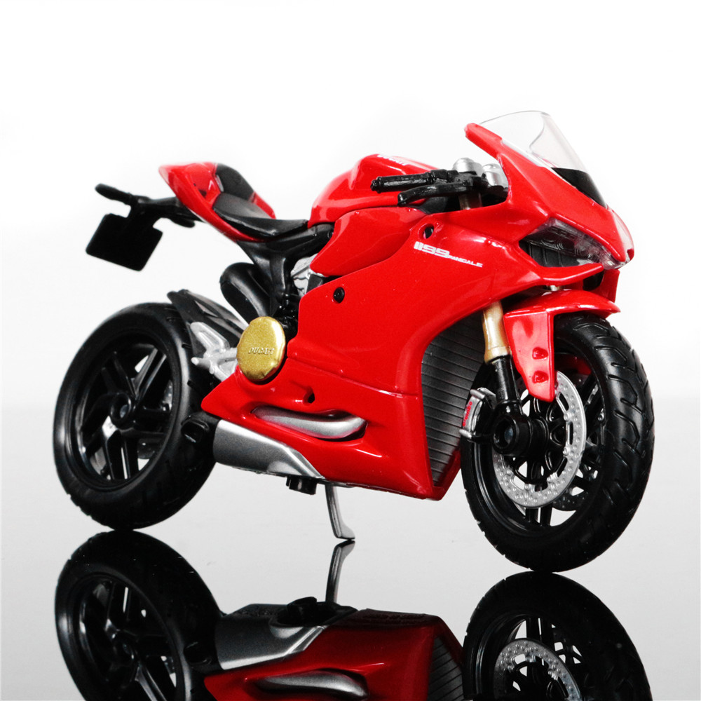118 scale maisto ducati 1199 panigale motorbike race cars mini motorcycle vehicle models office