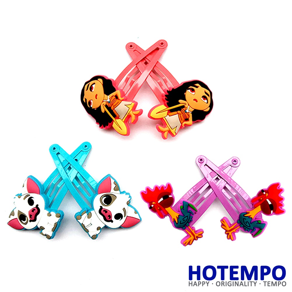 HOTEMPO pua moana Princess Action Fgure Hair Pin Hair Clip for Girls Hairclips Hairpins Baby Hair Baby Kids Girls Birthday Gifts все цены