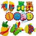 Развивающие игрушки Монтессори, развивающие игрушки из ткани «сделай сам» для детского сада