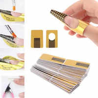 10Pcs Nail Art Tips Extension Forms Guide French DIY Tool Acrylic UV Gel 100% brand new and high quality 5.6