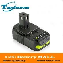 Date 18 V 2500 mAh Li-Ion Rechargeable Batterie Pour Ryobi RB18L25 Un Plus pour outils électriques remplacer P103, P104, P105, P108