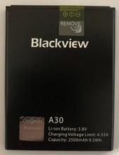 100% Original Backup Blackview A30 2500mAh Battery For A50 Smart Mobile Phone