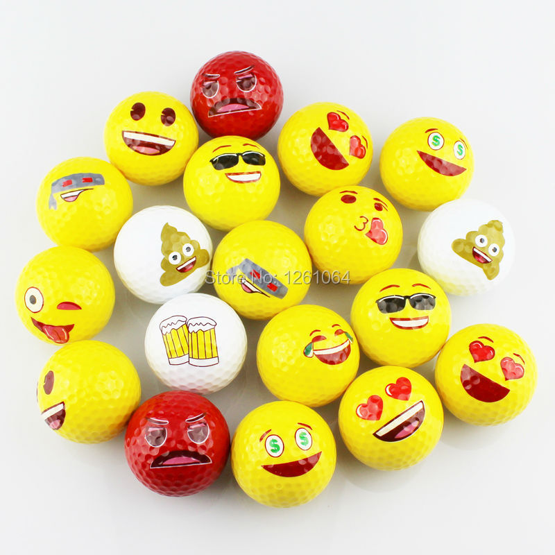 Beautiful Double Layer Golf Ball Practice Golf Ball Golf Gift Ball 3pcs/lot Wholesale