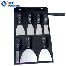 "7pcs Putty Knife 1""-5"" Scraper With 600D Tool Bag For Floor Window Wall Wipe Scraper Tool Set(China)"