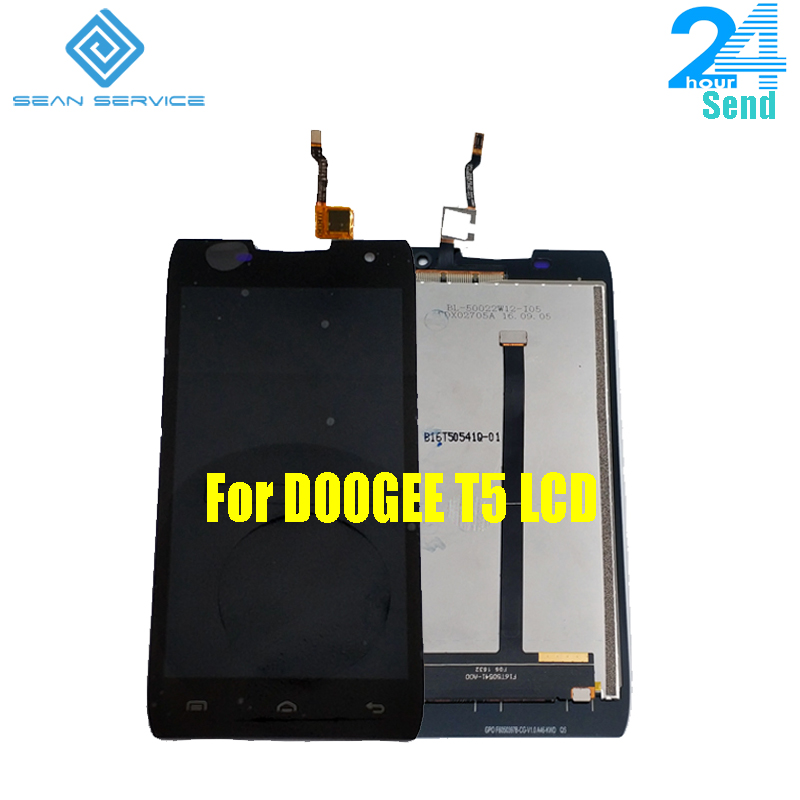 100% Originale DOOGEE T5 T5 Lite LCD Display + Touch Screen Digitizer Assembly Pannello Replacemen Digitale Strumenti di 5.0