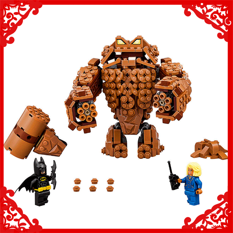 LEPIN 07050 Batman Series Clayface Splat Attack Building Block 469Pcs DIY Educational  Toys For Children Compatible Legoe decool 7118 batman chariot super heroes of justice building block 518pcs diy educational toys for children compatible legoe