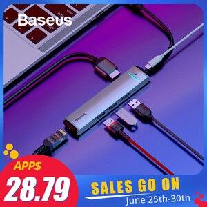 Baseus 6 Ports USB Type C To 3