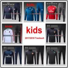 e8fda630187d2 kids Top thai reals 2018 survetement football barcelonaes training suit  atletico ac milan psg soccer tracksuit