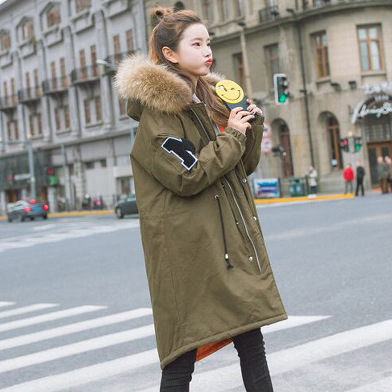 High Quality Large Real Fur 2017 Winter Jacket Women Natural Raccoon Fur Collar Hooded Thick Coat Female Winter Parkas конрад д heart of darkness сердце тьмы повесть на англ яз