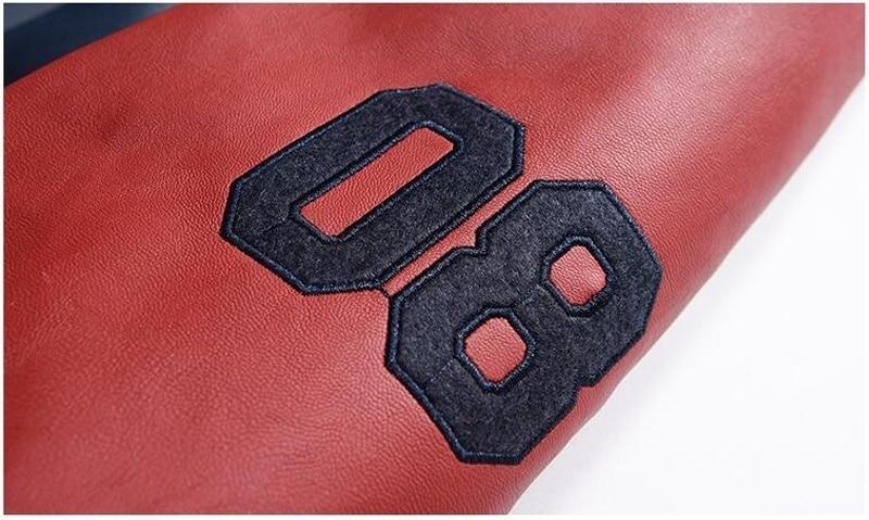 HTB1hbnDbRGw3KVjSZFwq6zQ2FXah New Men Pu Faux Leather Jacket 2019 Brand Embroidery Baseball Jackets Male Casual Luxury Winter Warm Fleece Pilot Bomber Coat