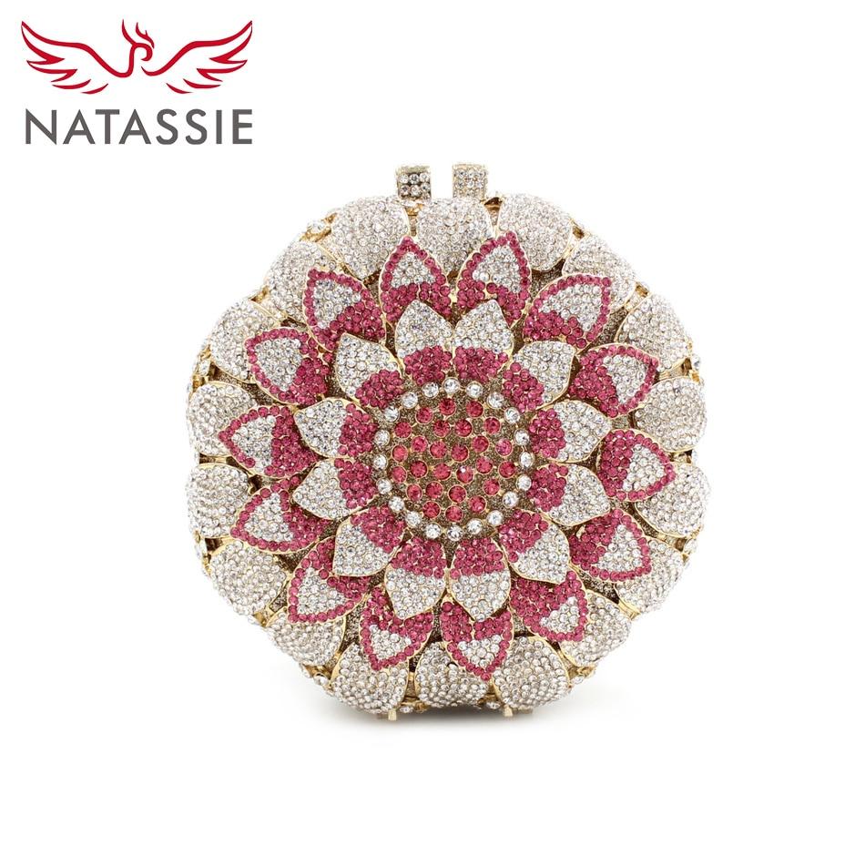 ФОТО NATASSIE Women Fashion Evening Bags Luxury Women Bag Evening Causal Colourful Flower Wedding Clutches Purses