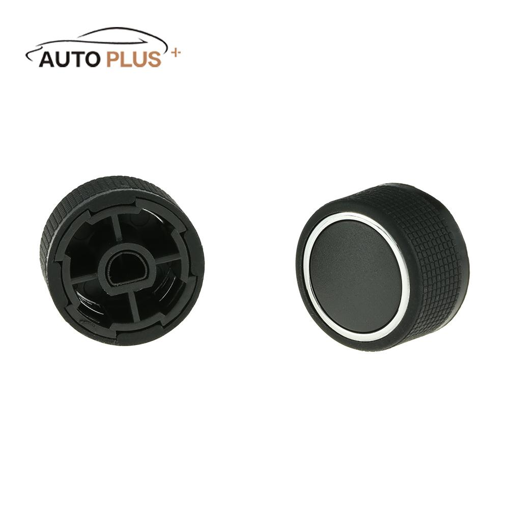 2pcs Car Rear Radio Volume Control Knob for GMC Chevrolet Cadillac Buick Replacement Kit