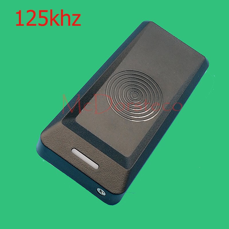 2pcs 125KHz RFID Card Reader Proximity Smart EM ID Card Reader Wiegand26/34 for Door Entry Access Control System metal rfid em card reader ip68 waterproof metal standalone door lock access control system with keypad 2000 card users capacity