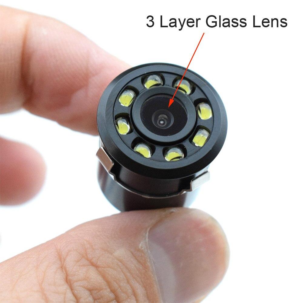 XCGaoon 18.5mm CCD Cámara de visión trasera para automóvil con 8 - Electrónica del Automóvil - foto 3