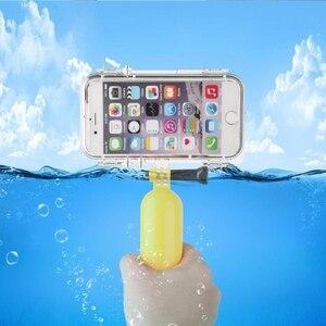Image 5 - Spor iPhone 6 için 6S artı su geçirmez cep telefonu kılıfı ile 170 derece geniş açı Lens ile uyumlu goPro aksesuarları