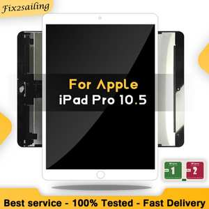 Digitizer Replacement Lcd-Display Tablet Touch-Screen OLED A1709 iPad Pro OEM for Glass