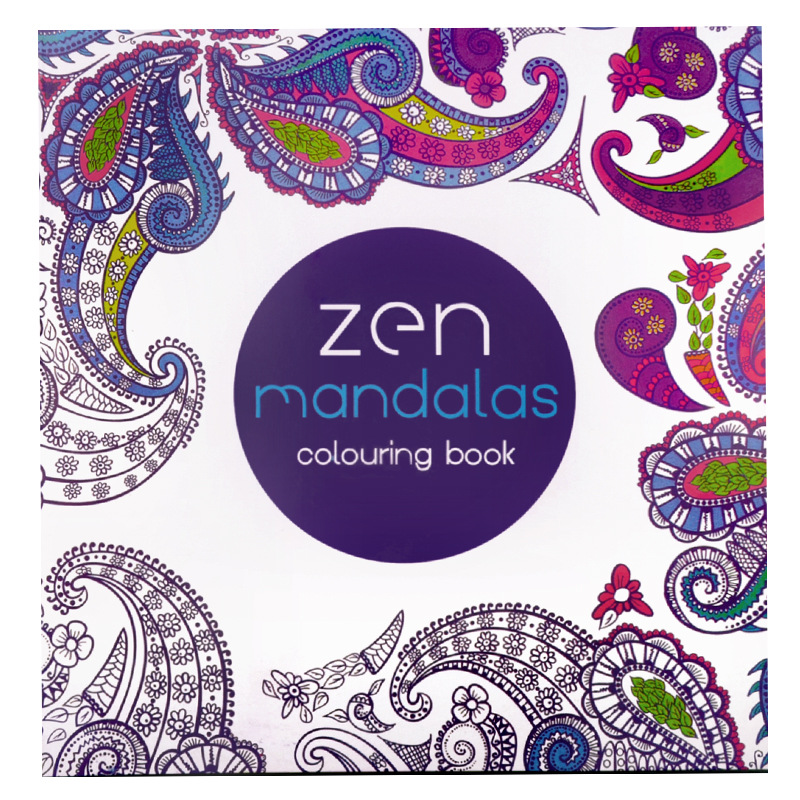 Mandalas Coloring Books For Adults Kids Relieve Stress Graffiti Painting Secret Garden art coloring books free shipping 128pages coloring mandalas 2 for balance harmony and spiritual well being