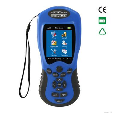 Free shipping, Noyafa NF-198 GPS survey equipment land meter device use for Farm Land Surveying And Mapping Area Measurement free shipping noyafa nf 906c new optical power meter 850 1300 1310 1490 1550 1625nm and detecting range dbm 50 26