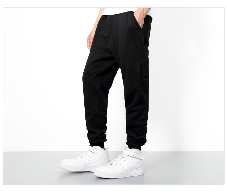 Men Joggers Pants Hip Hop Fashion Sport Skinny Sweatpants Casual Military Jogging Trousers Black beam foot trousers M-4XL (11)