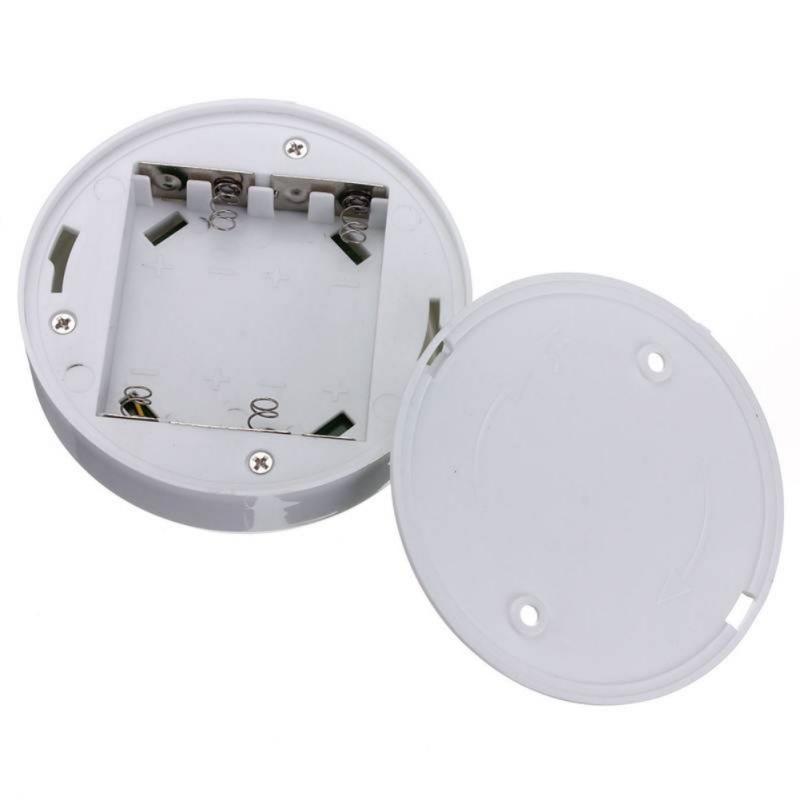 6LED Portable Wireless Infrared Night Light PIR AUTO Sensor Motion Detector Light Lamp Home Door Brightness Adjustable Light