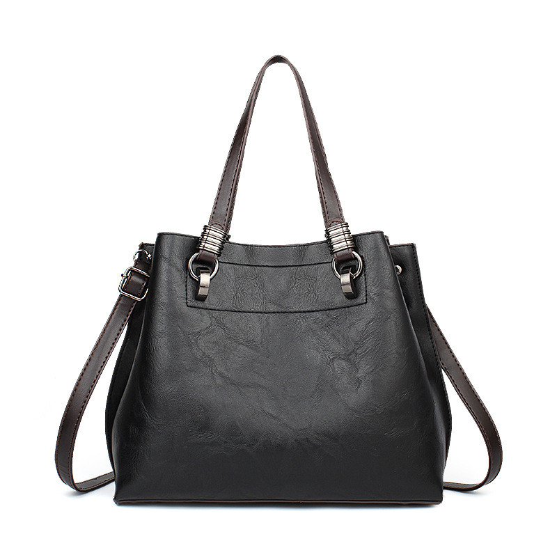 Fashion PU Leather Women Handbags Women Shoulder Bags New handbags Casual Messenger Bag Large Capacity Tote Crossbody Bags classic black leather tote handbags embossed pu leather women bags shoulder handbags elegant