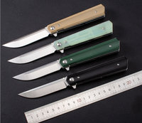 Trskt Folding knife bailianfan Carving Camping Hunting Knives Survival Tactical Counter Strike Couteau Edc tool Dropshipping