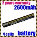 Jigu alta qualiy aptop bateria para lenovo l12m4a02 l12m4e01 l12s4a02 l12s4e01 ideapad g400s g410s g500s s510p s410p z710