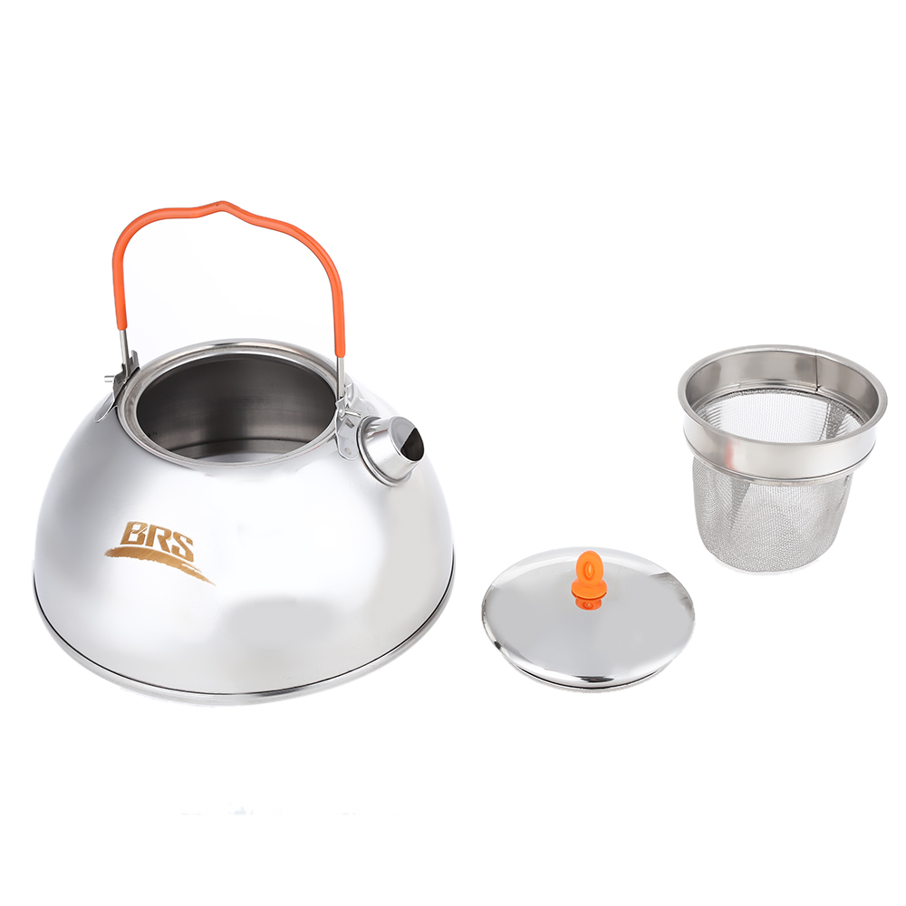 Stylized Brs Outdoor Camping Coffee Pot Teapot Stainless Steel Kettle Portableultra Light Outdoor Hiking Picnic Water Kettle Outdoor Tablewaresfrom Brs Outdoor Camping Coffee Pot Teapot Stainless Stee