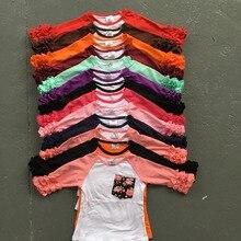 Реглан обледенения рябить о-образным вырезом футболка топ рубашки топы повседневная девушки